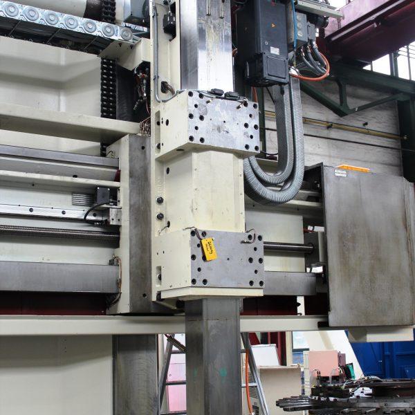 CNC Karusselldrehmaschine SCHIESS 16 DSC während der Überholung in der Werkshalle von Schiess Moweg GmbH