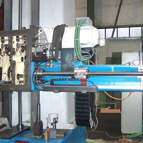CNC Tischbohrwerk WOTAN B 130 T während der Überholung im Hause Schiess Moweg GmbH